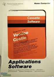 Box cover for Voodoo Castle on the Texas Instruments TI 99/4A.