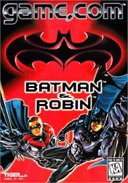 Box cover for Batman & Robin on the Tiger Game.com.