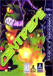 Box cover for Centipede on the Tiger Game.com.