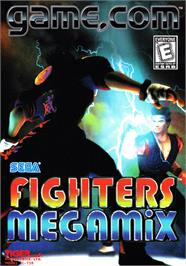 Box cover for Fighters Megamix on the Tiger Game.com.