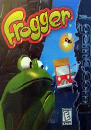 Box cover for Frogger on the Tiger Game.com.