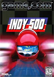 Box cover for Indy 500 on the Tiger Game.com.