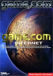 Box cover for Internet on the Tiger Game.com.