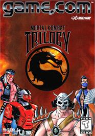 Box cover for Mortal Kombat Trilogy on the Tiger Game.com.