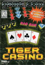 Box cover for Tiger Casino on the Tiger Game.com.