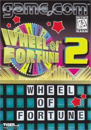 Box cover for Wheel of Fortune 2 on the Tiger Game.com.