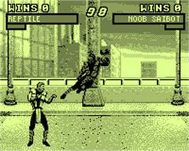 In game image of Mortal Kombat Trilogy on the Tiger Game.com.