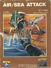 Box cover for Air/Sea Attack on the VTech CreatiVision.