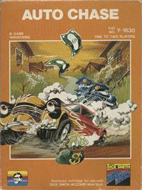 Box cover for Auto Chase on the VTech CreatiVision.