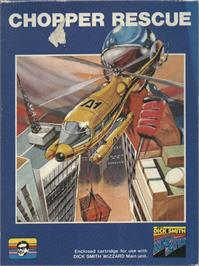 Box cover for Chopper Rescue on the VTech CreatiVision.