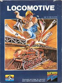 Box cover for Locomotive on the VTech CreatiVision.