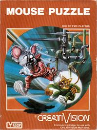 Box cover for Mouse Puzzle on the VTech CreatiVision.