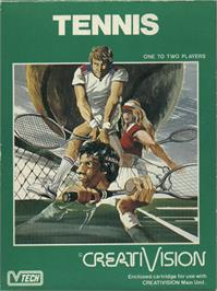 Box cover for Tennis on the VTech CreatiVision.