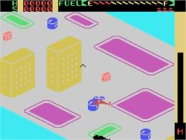 In game image of Chopper Rescue on the VTech CreatiVision.