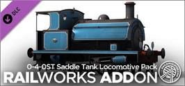 Banner artwork for 0-4-0ST Saddle Tank Locomotive Pack RailWorks Add-on.