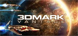 Banner artwork for 3DMark Vantage.