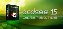 Banner artwork for ACDSee 15.