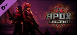 Banner artwork for APOX: Legend.