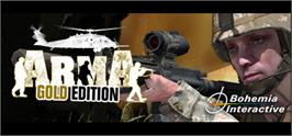 Banner artwork for ARMA: Gold Edition.