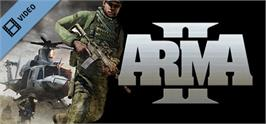 Banner artwork for ARMA II - CDF Trailer (ESRB).