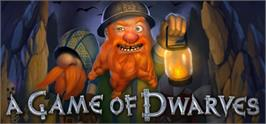 Banner artwork for A Game of Dwarves.