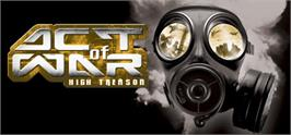 Banner artwork for Act of War: High Treason.