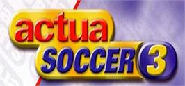 Banner artwork for Actua Soccer 3.