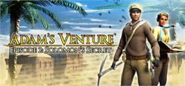 Banner artwork for Adam's Venture Episode 2: Solomon's Secret.
