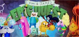 Banner artwork for Adventure Time: Finn and Jake's Epic Quest.