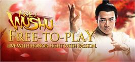 Banner artwork for Age Of Wushu.