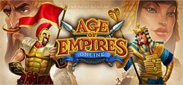 Banner artwork for Age of Empires Online.