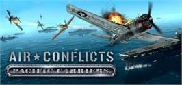 Banner artwork for Air Conflicts: Pacific Carriers.