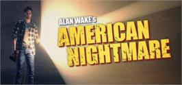 Banner artwork for Alan Wake's American Nightmare.