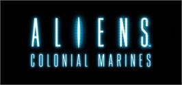 Banner artwork for Aliens: Colonial Marines.