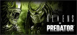 Banner artwork for Aliens vs. Predator.