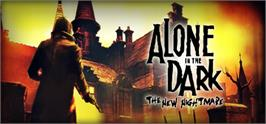 Banner artwork for Alone in the Dark: The New Nightmare.