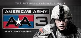 Banner artwork for America's Army 3.