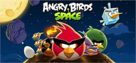 Banner artwork for Angry Birds Space.