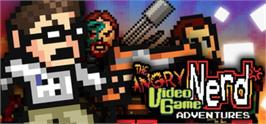 Banner artwork for Angry Video Game Nerd Adventures.