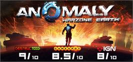 Banner artwork for Anomaly: Warzone Earth.