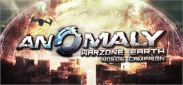 Banner artwork for Anomaly Warzone Earth Mobile Campaign.