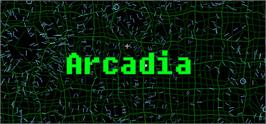 Banner artwork for Arcadia.
