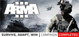 Banner artwork for Arma 3.
