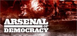 Banner artwork for Arsenal of Democracy: A Hearts of Iron Game.