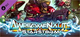 Banner artwork for Awesomenauts: Starstorm.