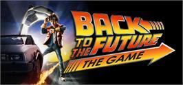 Banner artwork for Back to the Future: The Game.
