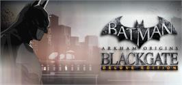 Banner artwork for Batman: Arkham Origins Blackgate - Deluxe Edition.