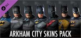 Banner artwork for Batman Arkham City: Arkham City Skins Pack.