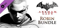 Banner artwork for Batman Arkham City: Robin Bundle.