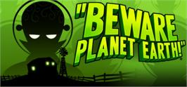 Banner artwork for Beware Planet Earth.